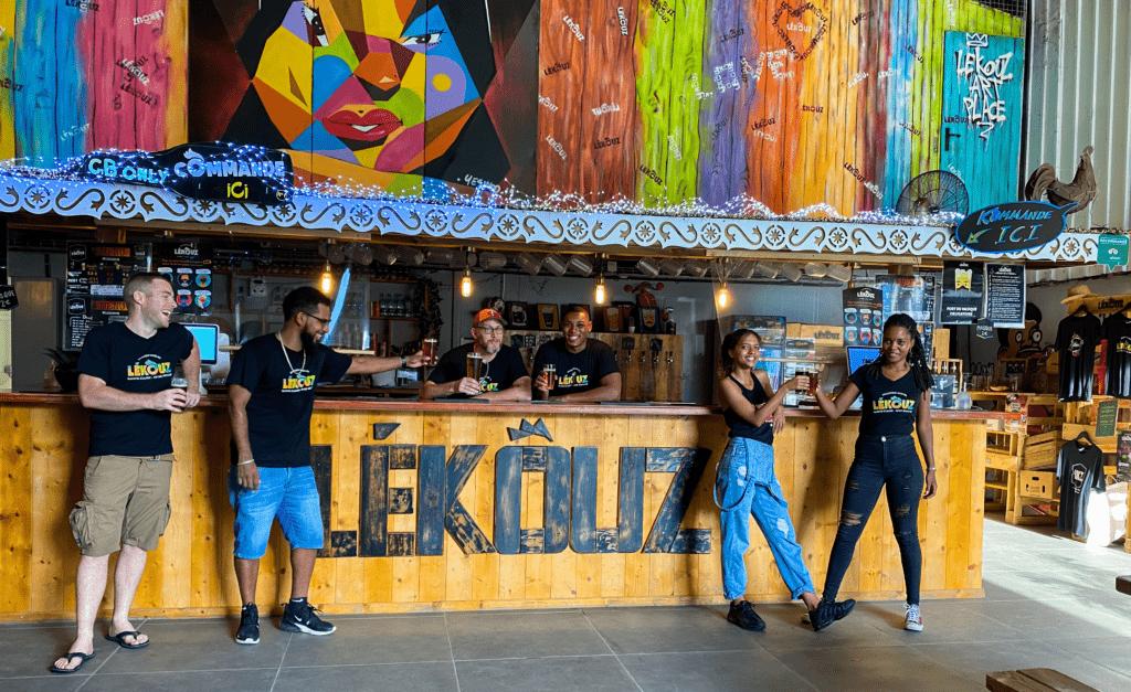 Bières-artisanales-Lékouz-guadeloupe-bar